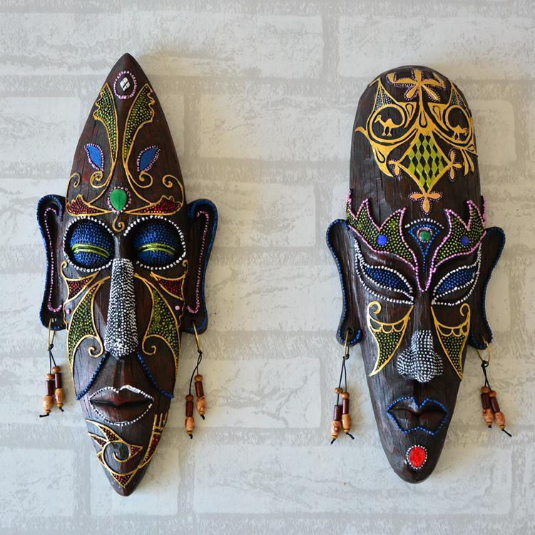 Personalized Wall Hangings african mask wall hangings medium creative personalized wall mural