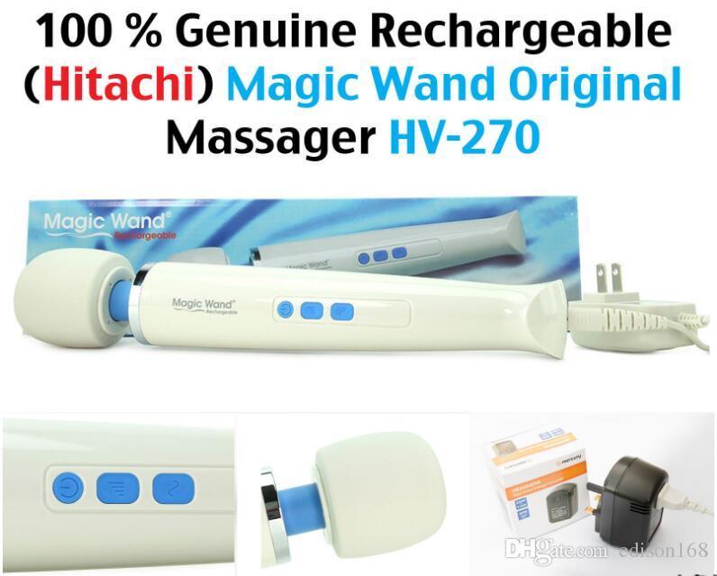 Горячая новая волшебная палочка мощный AV вибраторы аккумуляторная всего тела персональный массажер HV-270 женский продукт мастурбации взрослых Секс-игрушки HV270