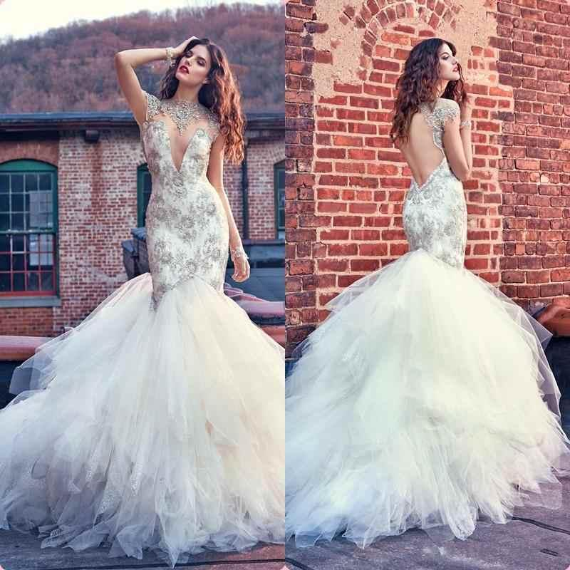 Luxurious 2016 mermaid wedding dresses long sleeves for Dhgate wedding dresses 2016