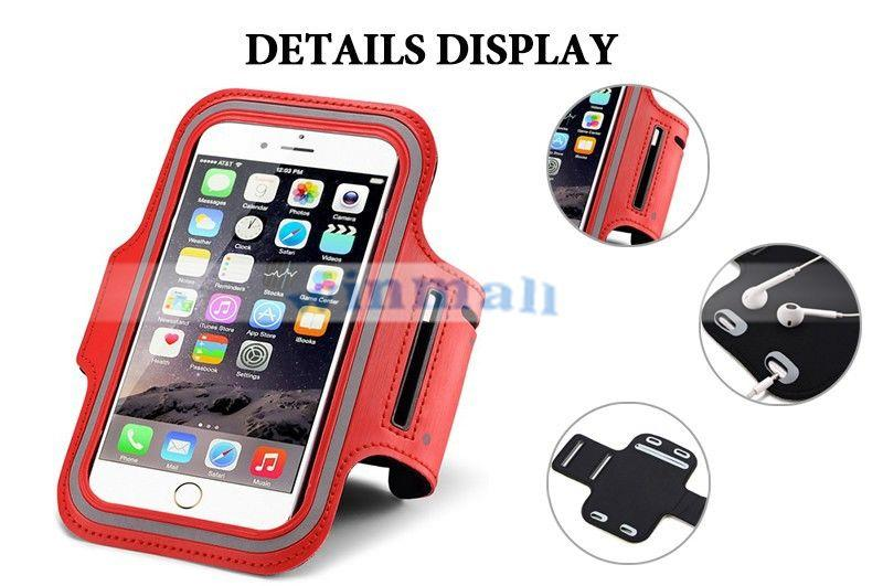 WaterProof Sport Gym Running Armband Case Cover Bag Pouch For Iphone 6/plus 5/5s 4/4s SAMSUNG Galaxy S4 S5 Note 3