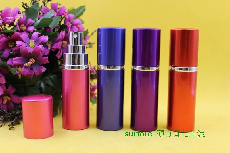 20ml New Sale Mini Portable Travel Refillable Perfume Atomizer Aluminum Bottle For Spray Scent Pump Case Empty bottles Oils Diffusers