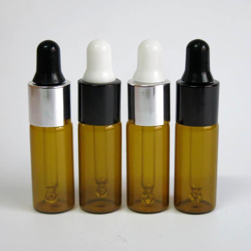 피펫 적기, 5CC 드롭퍼 유리 병 도매 5 ㎖ 유리 병, 유리 황색 액체 포장 용기를 전자