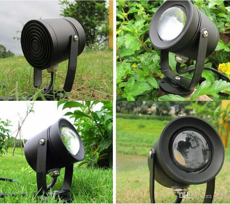 Lampadina faretti da giardino 10W COB DC12V AC85 ~ 265V esterni esterni Decorazioni feste RGB bianco caldo bianco freddo Lampada CE ROSH
