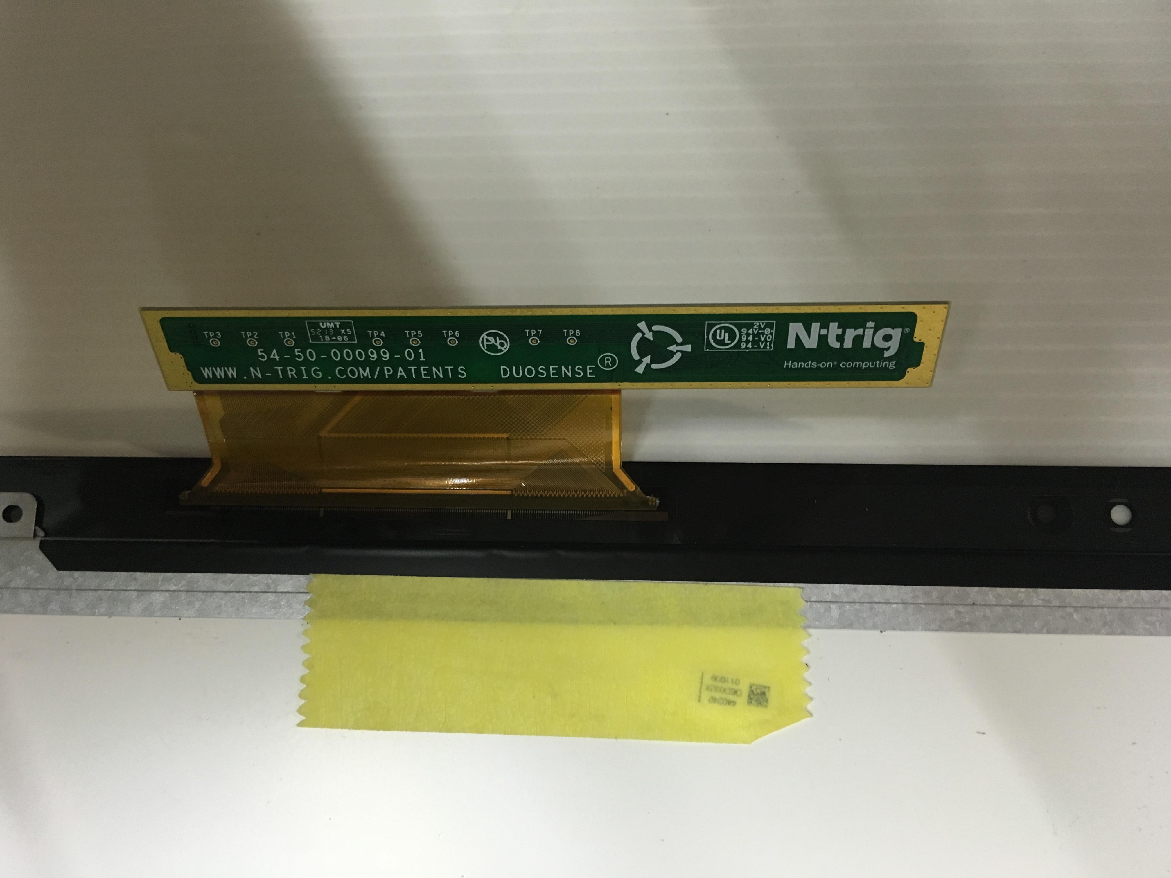 original para Sony Vaio serie SVF15N portátil pantalla LED con panel de pantalla táctil LP156WF4 SPU1 SPXU1 54-50-00099-01 NC155WSL01