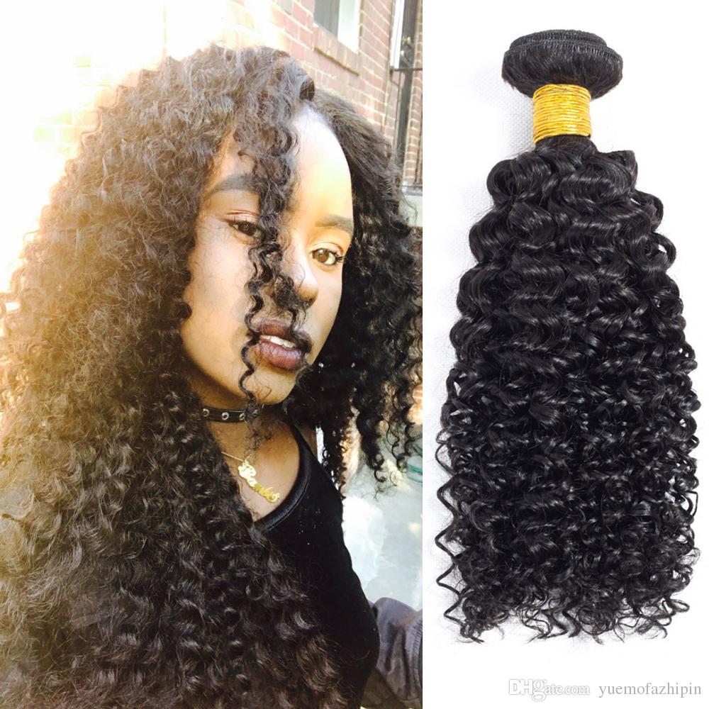 Grace Length 8a Jerry Curl Brazilian Virgin Human Hair Extensions