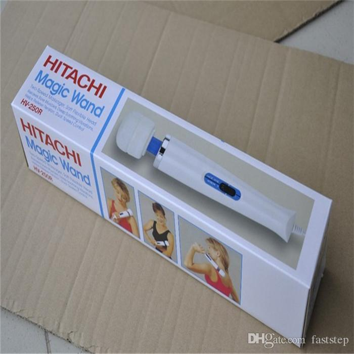 Yeni varış Hitachi Sihirli Değnek Masaj, bayanlara Seks Oyuncakları HV-250 110-240 V Elektrikli Masaj ücretsiz shipiping