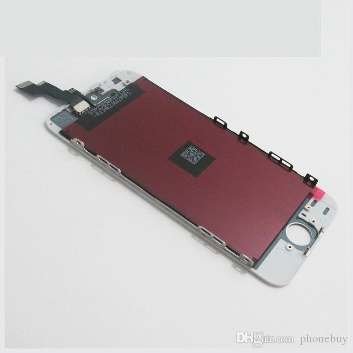 Siyah / Beyaz iPhone 5 S Için LCD Ekran Ekran + Dokunmatik Ekran Digitizer + Çerçeve Yedek Meclis + Açılış araçları toptan