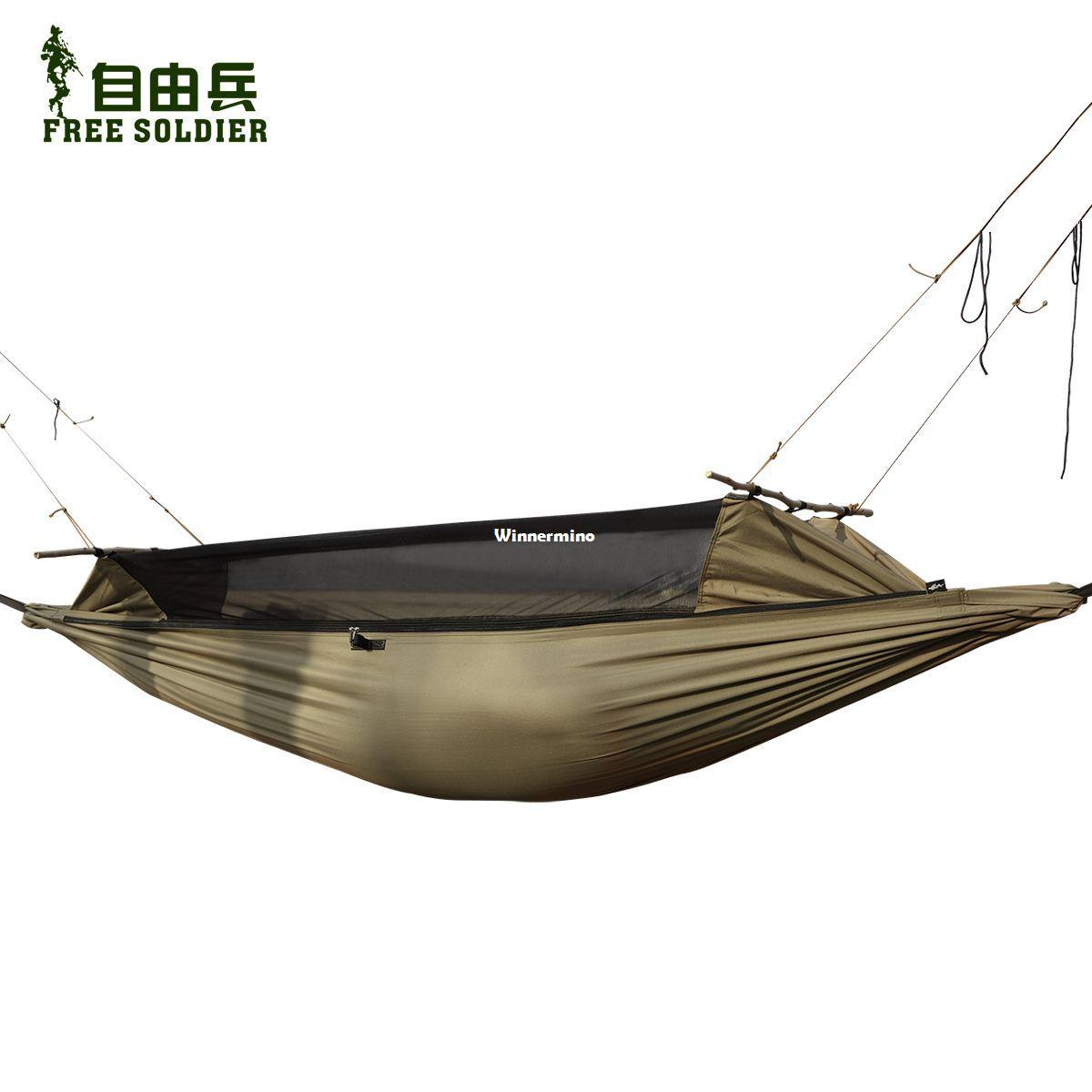 2018 1509 free soldiers outdoor hammocks survivors multifunctional portable ground anti mosquito wear tear tent hammock ai0066 90 220cm from winnermino     2018 1509 free soldiers outdoor hammocks survivors multifunctional      rh   dhgate