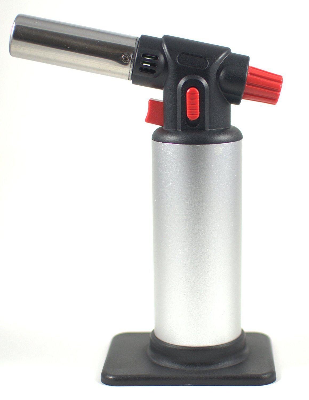 Chef Blowtorch Scorch Torch Refillable Butane Kitchen Torch Butane Torch Jet Flame Torch Iron Welding Gift Hot Butane Gas Lighter Gas Torch