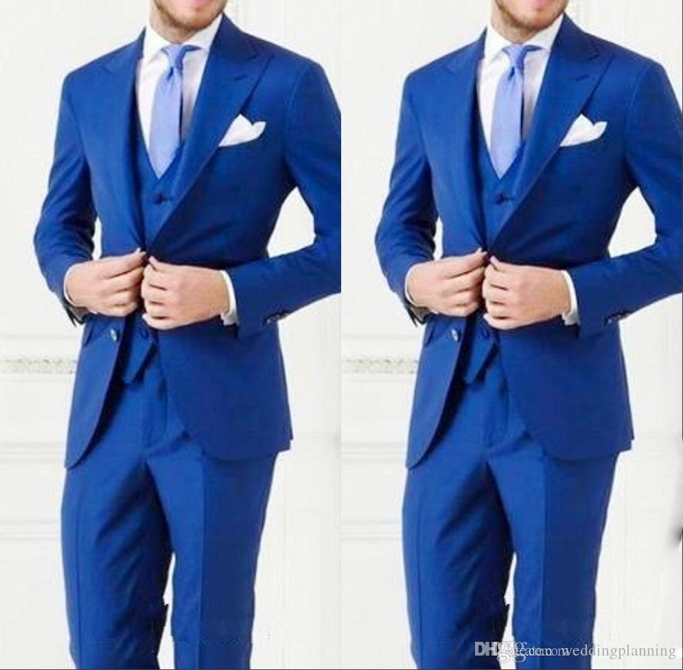 Cheap High Quality Men Suit Bestmen Groom Tuxedos Custom Made Formal Suits Business Men WearJacket+Pants+Tie+Vest 2016 New Arrival