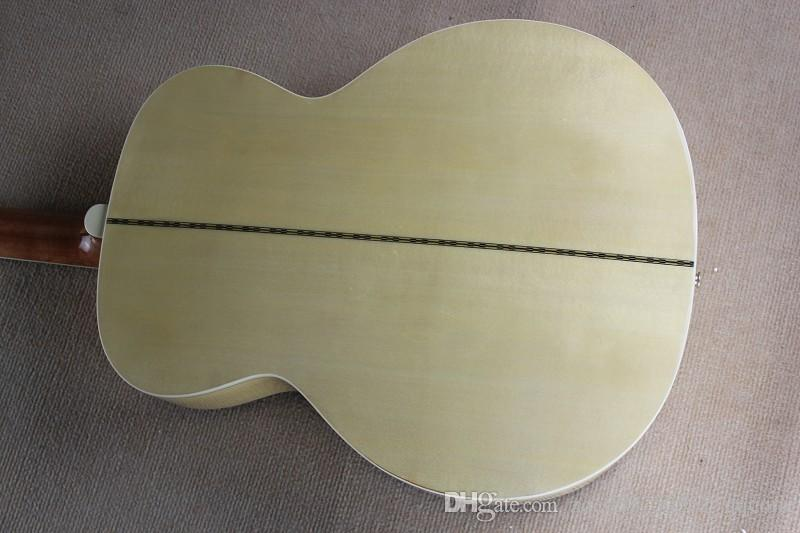 Hot Sale Factory Customized 43 Inch 12 Strings Folk Acoustic Guitar with Mahogany Neck,can be Customized