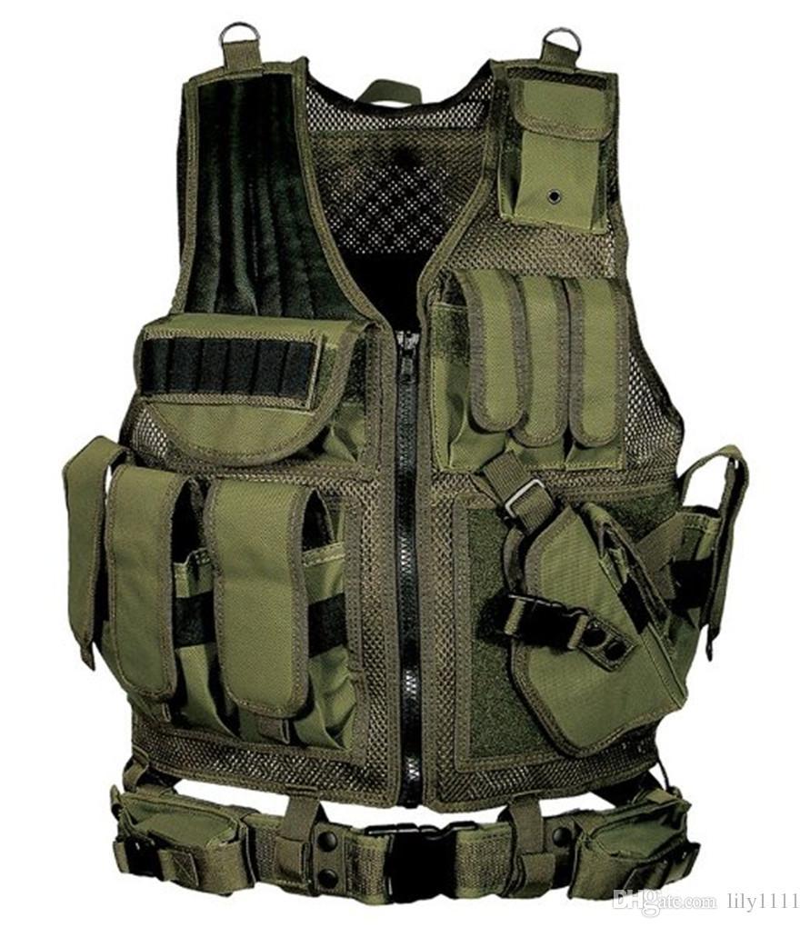 Envío gratis chaleco táctico uniforme de combate del ejército chaleco