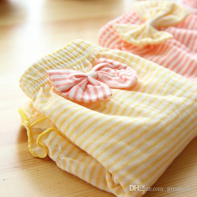 дети трусики полосатый лук бантом мультфильм дети кружевные шорты нижнее белье новорожденных девочек трусы трусики краткое дети милый хлопок трусы