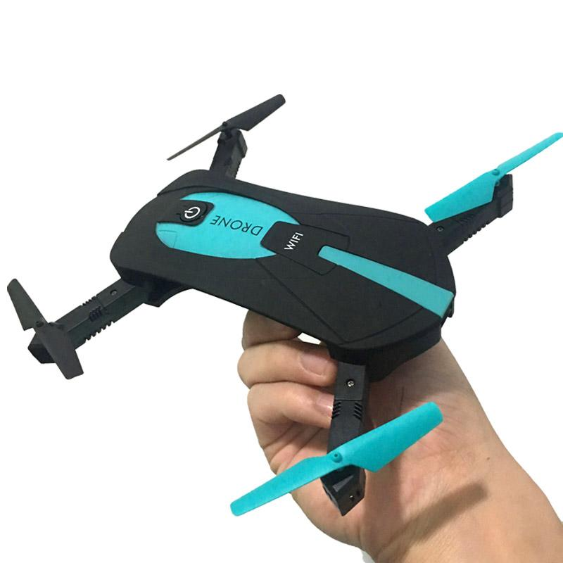 JY018 WiFi FPV Quadcopter Mini Dron Foldable Selfie Drone RC Drones with  Camera HD FPV Professional RC Helicopter Gift