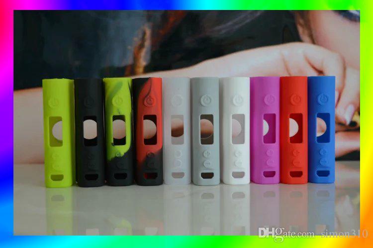Funda de silicona colorida para Subox nano Batería Funda protectora Fit Kangertech E Cigarrillo Funda protectora de goma Funda protectora Envío gratis