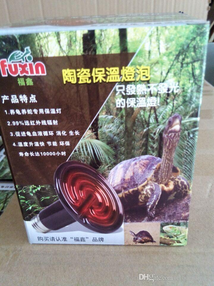 Infrarotlampe der Infrarotlampe der keramischen Wärmelampe 220V oder 110V 50--200w Reptil / Haustier / Amphibie / Geflügel / H301009 schneller Versand