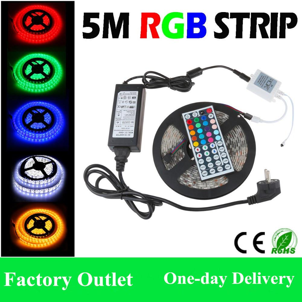 5m 300 leds waterproof led strips rgb lights 5050 smd 44key 5m 300 leds waterproof led strips rgb lights 5050 smd 44key remote controller 12v 5a power supply euauukus aquarium led strip led light strips for aloadofball Choice Image