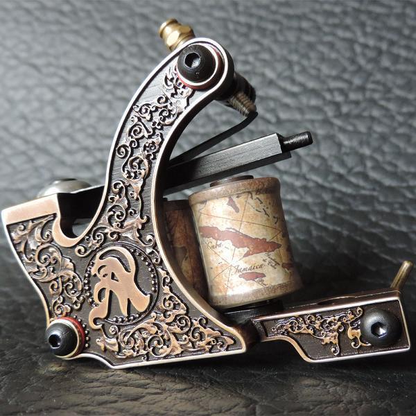 Usa dispatch pro brass engraving tattoo machine gun for for Tattoo machine for beginners