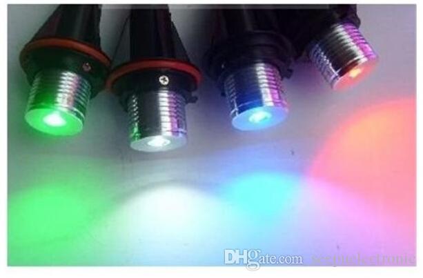 2x LED Angel Eye Maker enciende 12V 6W blanco azul rojo para BMW E53 E64 E39 E83 E89
