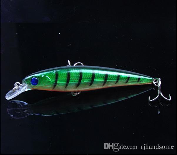 Вибрационный мелкий рывок рыболовная приманка 8 цветов японский гольян пластиковые жесткий Bait 0.5 oz 11 см 4.3
