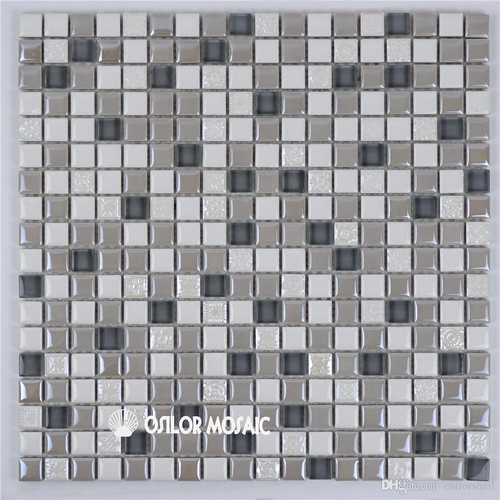 2019 Ceramic And Marble Mosaic Tile For Bathroom And Kitchen