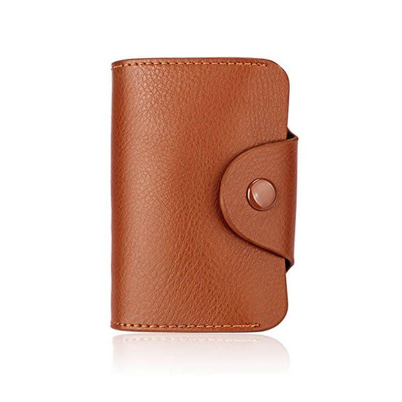 carte femmes mode chaud gardien de véritables sacs en cuir porte d'identité titulaire affaires Carte de crédit ID dames bolasa 13 cartes LZ0539