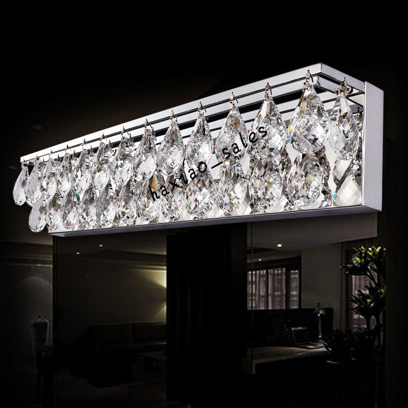 Crystal Torch Bedroom Wall Lamp Bathroom Mirror Front Wall: 2019 Sconce Light Wall Light Crystal K9 LED Modern