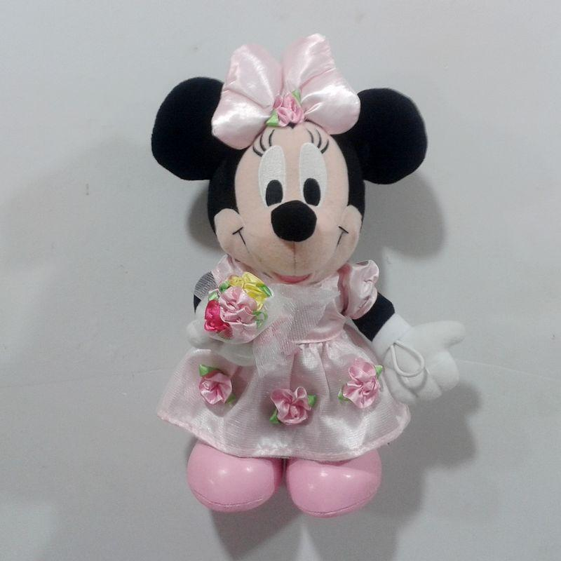 Original Minnie Mouse Hand With Flower Plush Soft Toys Best Gift For