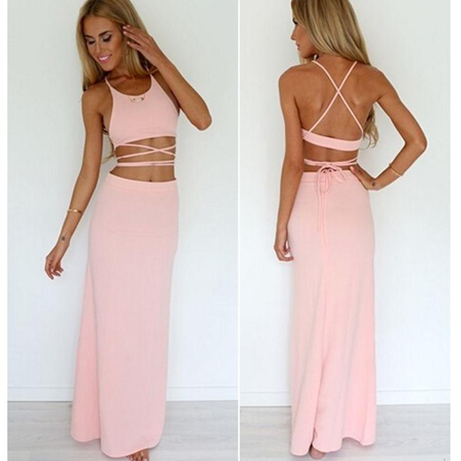 Two Piece Dance Dresses