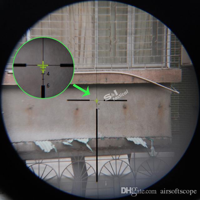 Новый Trijicon ACOG 4x32 реального источника волокна зеленый подсветкой тактическая винтовка охотничий прицел ж / RMR микро красная точка зрения темная земля