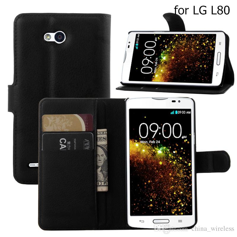 Luxury PU Leather Flip Case Cover For LG K10 K7 G5 G4 G3 G2 Cell Phone Shell Case Back Cover With Card Holder