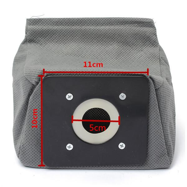 Fashion Hot Practical vacuum cleaner bag 11x10cm non woven bags hepa filter dust bags cleaner bags for cleaner Clean Accessories