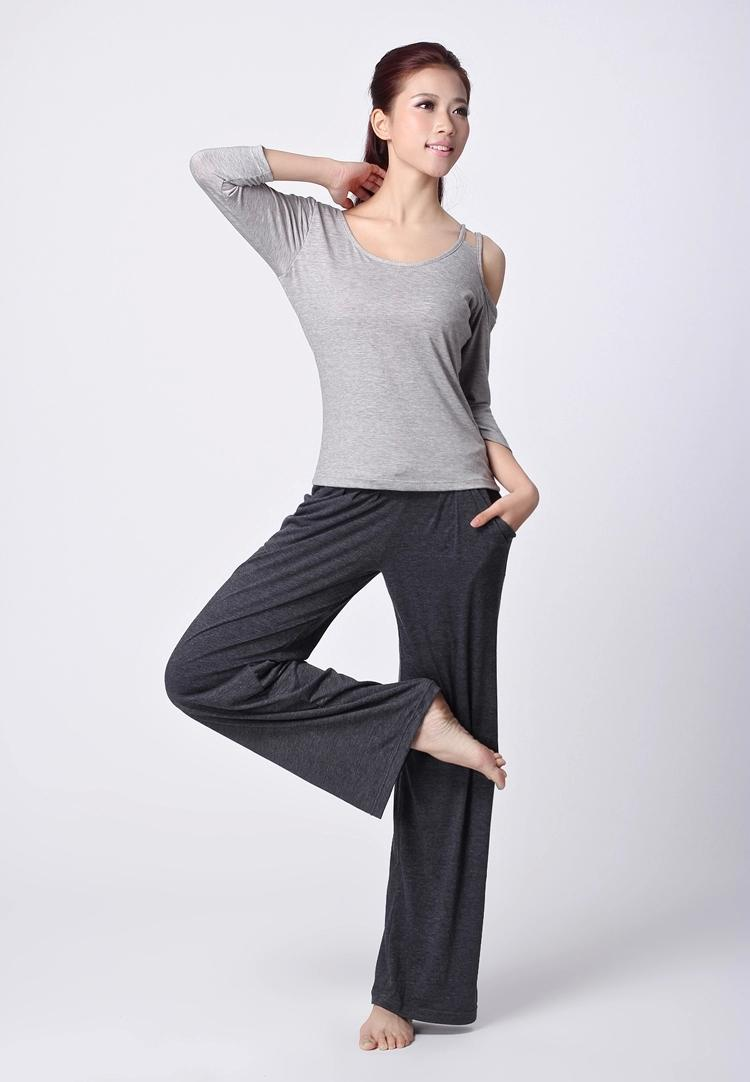 2018 Yoga Sets 2015 Yoga Outfits Top Modal Yoga Sets Outdoor Sports Clothes Fashion Leasure ...