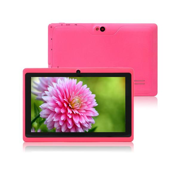 7'' AllWinner A33 Q88 Quad Core tablet with USB Keyboard Case Capacitive Scree Android 4 512mb ram 4gb rom Dual camera 002609