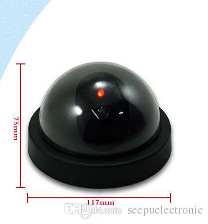 Манекен крытый безопасности CCTV камеры поддельные манекен купола камеры наблюдения мигает для домашнего офиса камеры LED