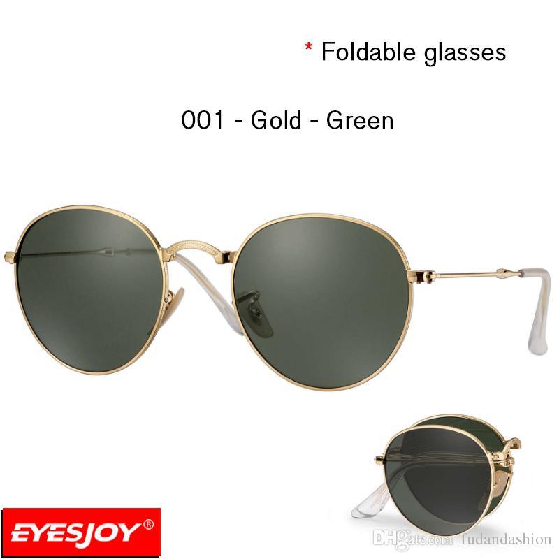 Haute qualité Lunettes de soleil Mode Pliable Glasses Box Case-02 QiIyvPm45