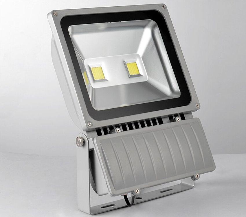 Светодиодный прожектор 12 В светодиодный прожектор 100 Вт наружное освещение COB водонепроницаемый IP65 DC12V 5 шт. 3 года гарантии супер яркий толстый корпус