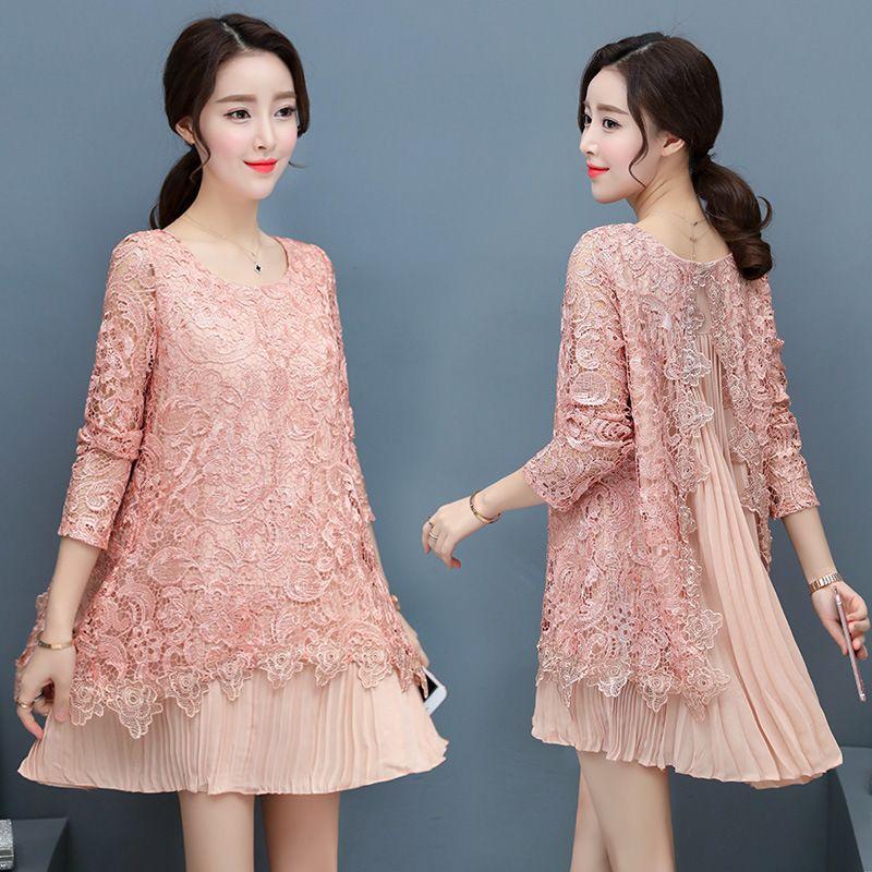 Pink Chiffon Dresses for Women