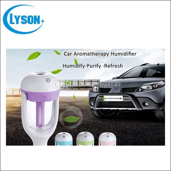 Novo Design Nanum Purificador De Ar Do Carro Purificador De Umidificador de Ar Fragrance Poder Ultra-sônico Purificador De Ar Do Carro Purificador de Aromaterapia Difusor