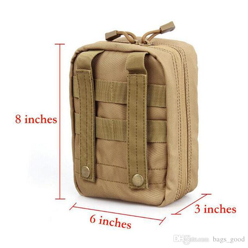 Empty Bag for Emergency Bag Tactical Medical First Aid Kit Waist Pack Outdoor Camping Travel Tactical Molle Pouch