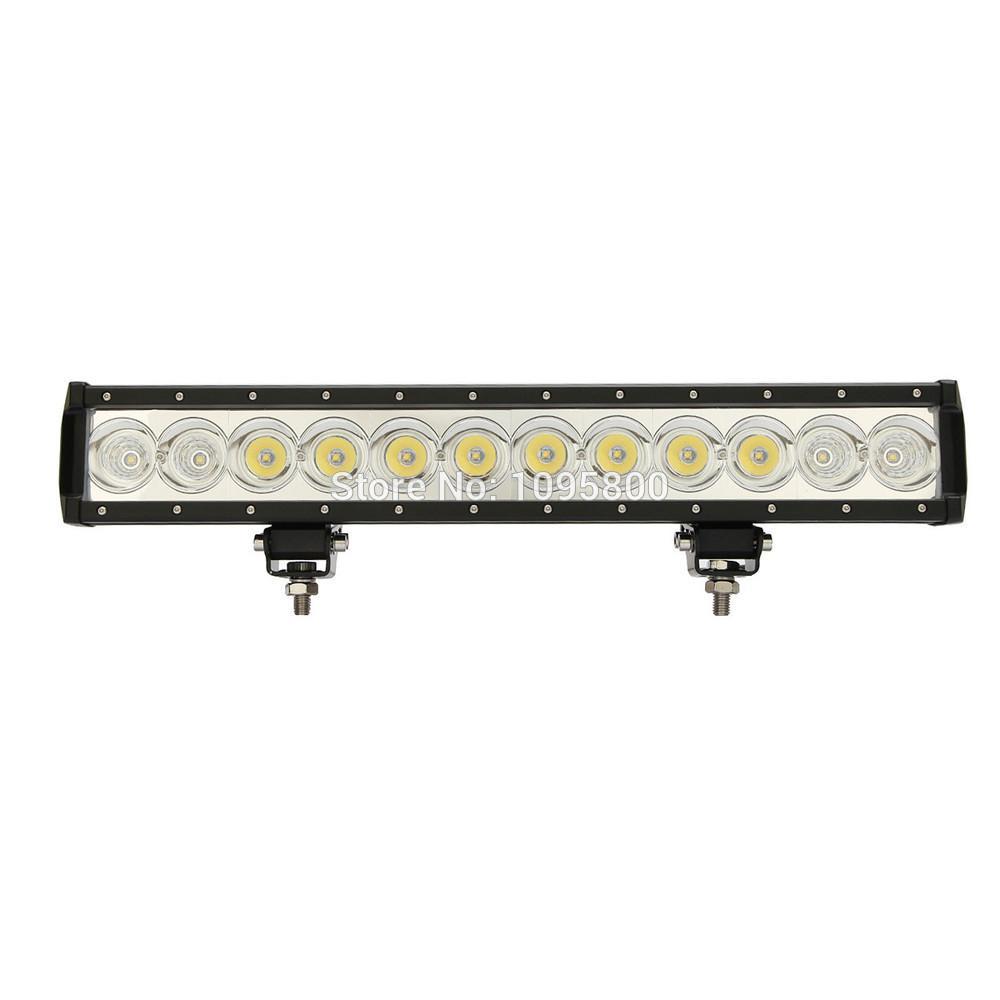 12v waterproof led light bar 20 inch 120 w single row led off road see larger image aloadofball Gallery