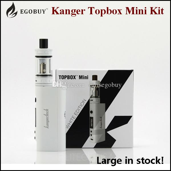Authentic Kangertech Topbox Starter Kit Kanger Subox Mini Pro TC KBox 75w Temperature Control Box Sub Mods SSOCC clapton Toptank Mini Tank