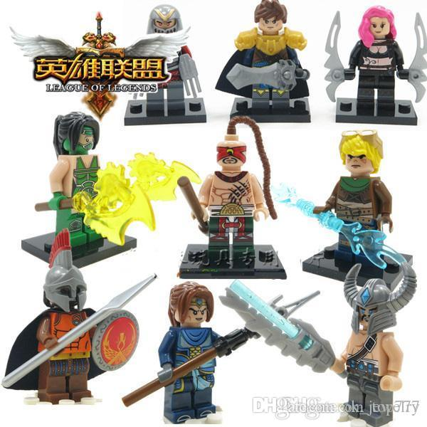 2018 League Of Legends Lol New 2015 Bricks Toys Minifigures Figure ...