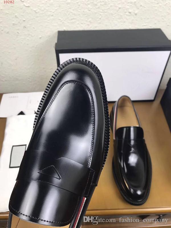 2017 nouvelles chaussures plates en cuir chaussures de haute qualité pour hommes, chaussures de loisirs confortables hommes respirant: 38-44
