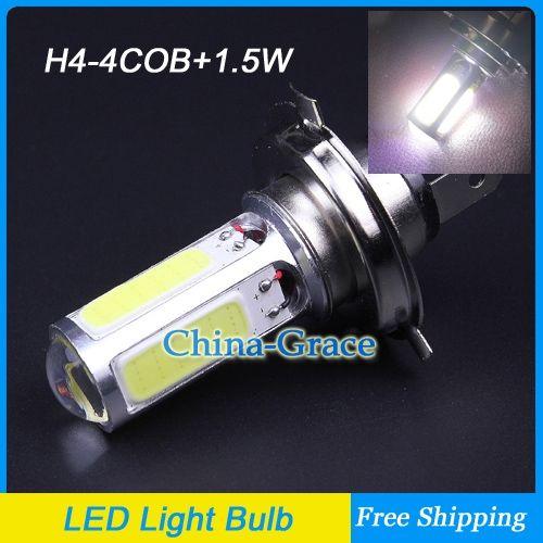 New H4 4cob 1 5w Led High Low Beam Headlights Gallery