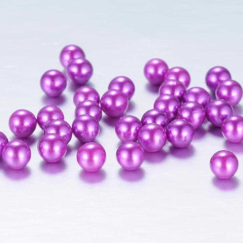 Mix Colors 8mm Teal Pearl Spacer Luźne Koraliki Do Pływających Charms Biżuteria Naszyjnik Bransoletka Dokonywanie 1000 sztuk / partia