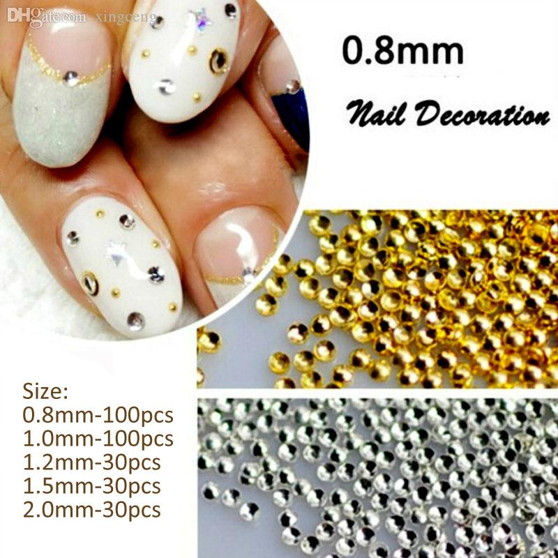 Wholesale-Nails Art Decorations New Arrive 3D Nail Art Ongle 0.8MM ...