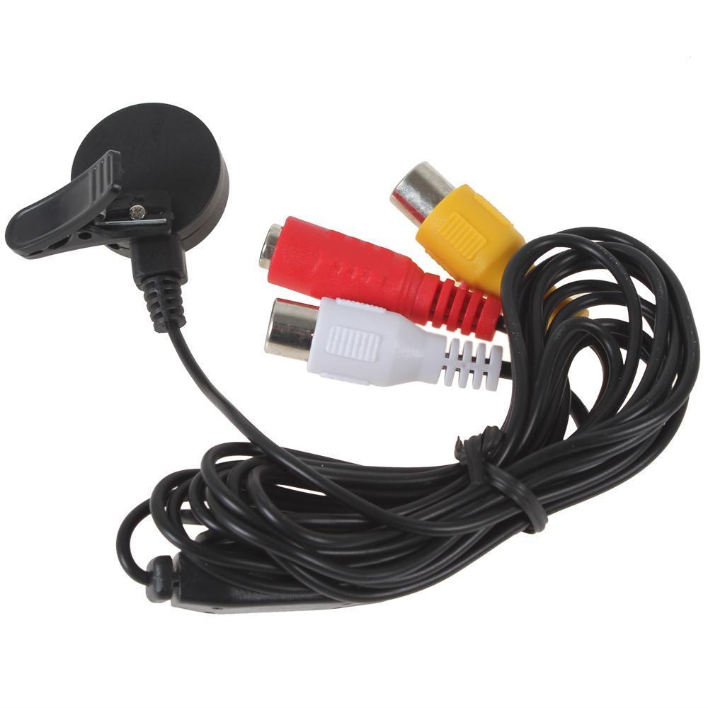 HD 1280 x 960 600TVL 1/3 Zoll CMOS-Sensor Nachtsicht-Minikamera mit 8 IR-Lichtern CCT_542