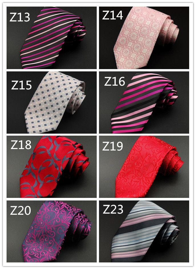 Plaid Grain Fancy Men Tie Elegant Fashion Smooth Necktie Smooth Luxury Formal Business Wedding Holiday Party Ties Wholesale