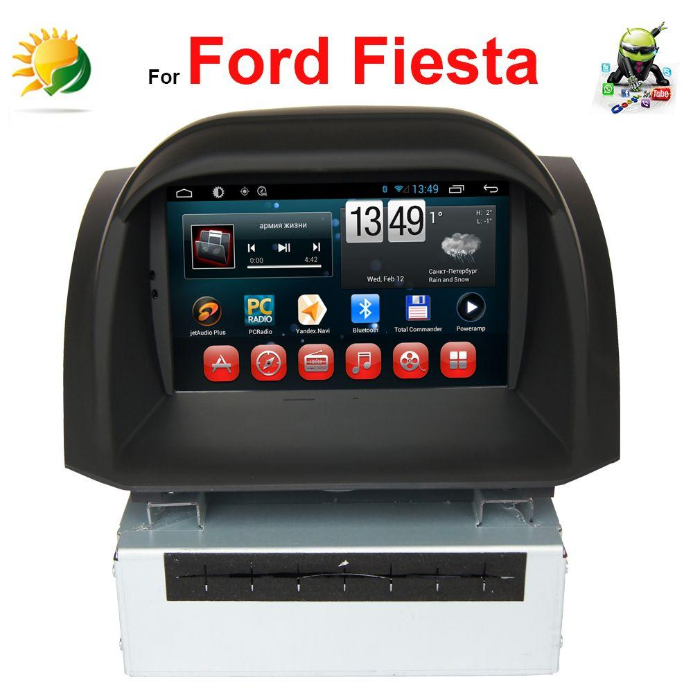Car Audio Tv Screens Carsjpcom 2 Din Dvd Nav Wiring Diagram 2018 Android 4 Touch Screen Stereo For Ford Fiesta Gps